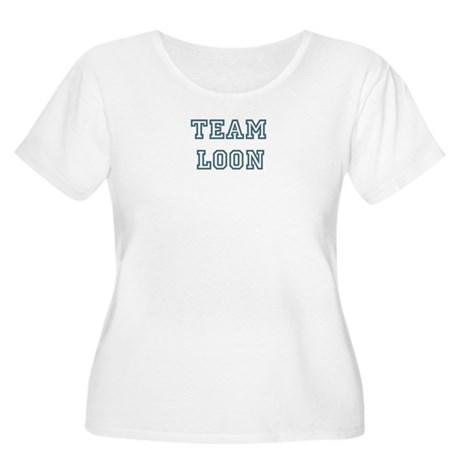 Team Loon Women's Plus Size Scoop Neck T-Shirt