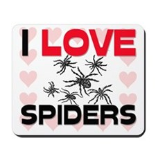I Love Spiders Mousepad