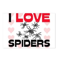 I Love Spiders Postcards (Package of 8)