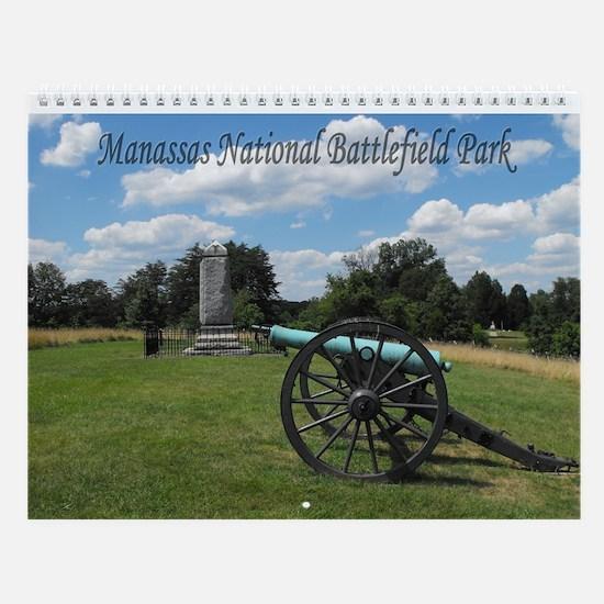 Manassas Battlefield Wall Calendar