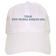 Team New Guinea Singing Dog Baseball Cap