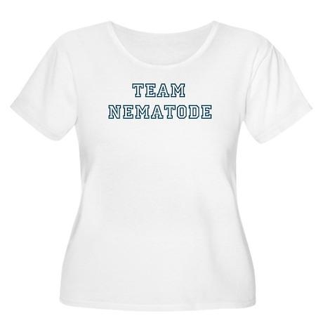 Team Nematode Women's Plus Size Scoop Neck T-Shirt