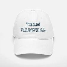 Team Narwhal Baseball Baseball Cap