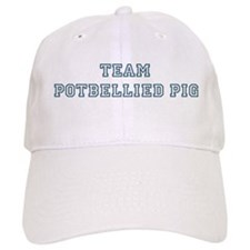 Team Potbellied Pig Baseball Cap