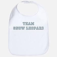 Team Snow Leopard Bib