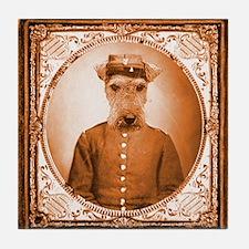 Welsh Terrier BEAUREGARD Tile Coaster
