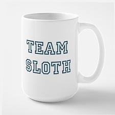 Team Sloth Large Mug