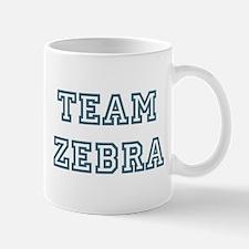 Team Zebra Mug