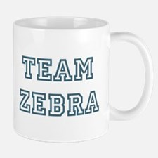 Team Zebra Small Mugs