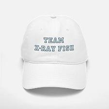 Team X-Ray Fish Baseball Baseball Cap