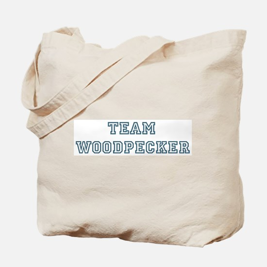 Team Woodpecker Tote Bag