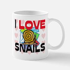 I Love Snails Mug