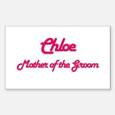 Chloe - Mother of the Groom Rectangle Decal