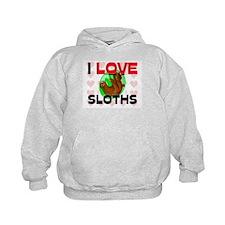 I Love Sloths Hoodie