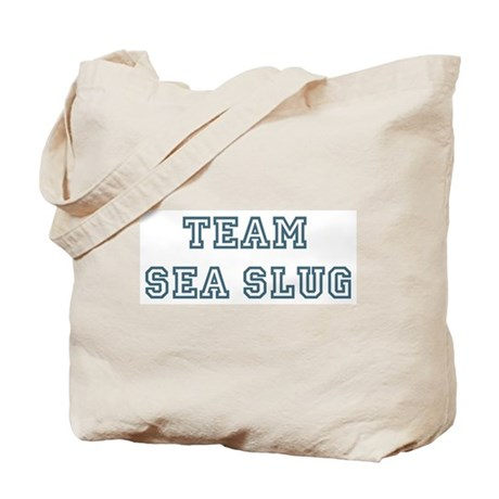 Team Sea Slug Tote Bag