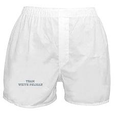 Team White Pelican Boxer Shorts