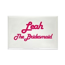 Leah - The Bridesmaid Rectangle Magnet