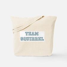Team Squirrel Tote Bag