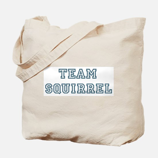 Team Squirrel Tote Bag
