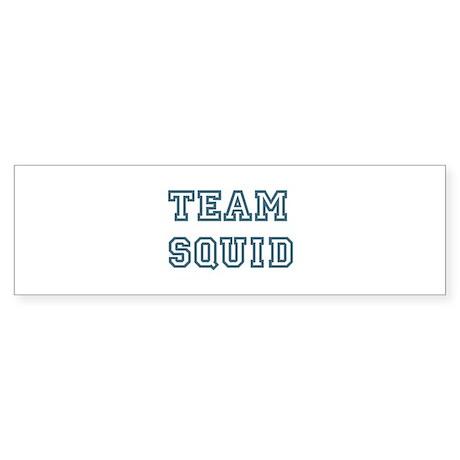 Team Squid Bumper Sticker