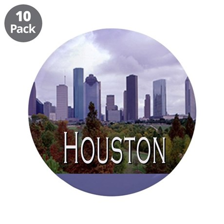 """Houston 2 3.5"""" Button (10 pack)"""