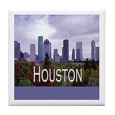 Houston 2 Tile Coaster