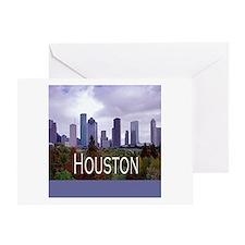 Houston 2 Greeting Card
