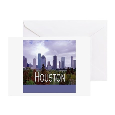 Houston 2 Greeting Cards (Pk of 10)