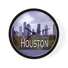 Houston 2 Wall Clock