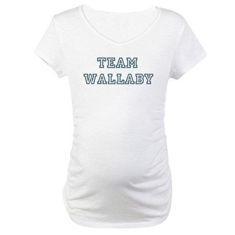 Team Wallaby Maternity T-Shirt