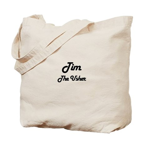 Tim - The Usher Tote Bag