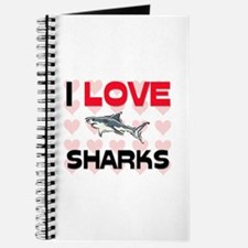 I Love Sharks Journal