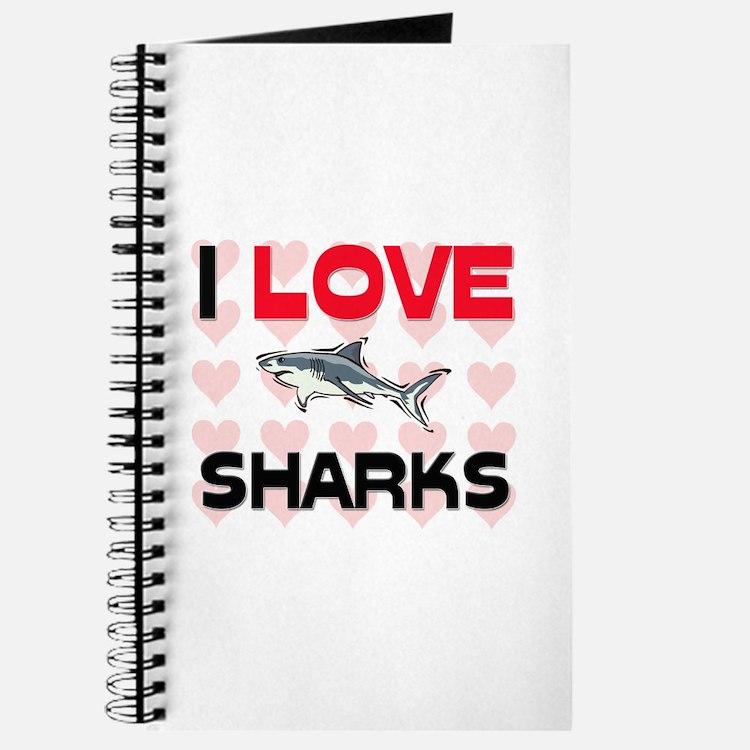 I Love Sharks Journal