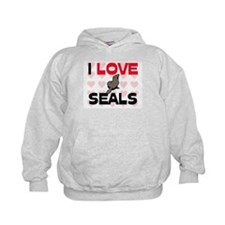 I Love Seals Hoodie