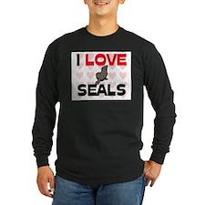 I Love Seals T