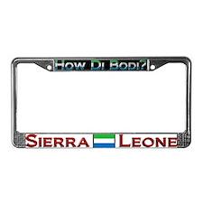 How Di Bodi? - License Plate Frame