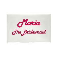 Maria - The Bridesmaid Rectangle Magnet