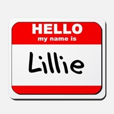 Hello my name is Lillie Mousepad