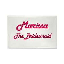 Marissa - The Bridesmaid Rectangle Magnet