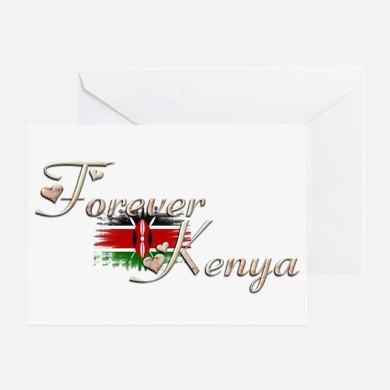 Forever Kenya - Greeting Card