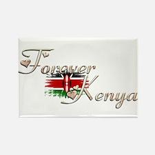 Forever Kenya - Rectangle Magnet