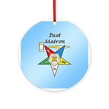 Past Matron Ornament (Round)