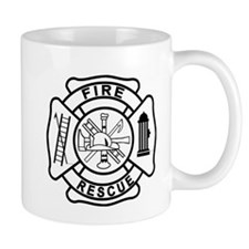 Firefighter Thin Red Line Mug