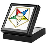 Oes worthy grand matron Square Keepsake Boxes