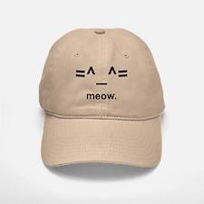 Anime Kitty Cat Emoticon Baseball Baseball Cap (emoji hat)