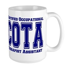 Blue Collegiate COTA Mug
