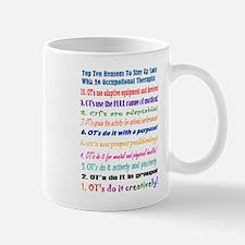 Up Late OT Top 10 Mug