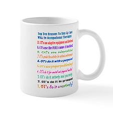 Up Late OT Top 10 Small Mug