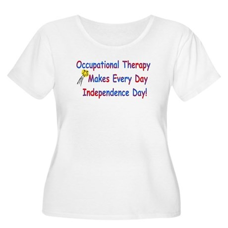 Occupational Therapy Makes Ev Women's Plus Size Sc