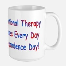 Occupational Therapy Makes Ev Large Mug